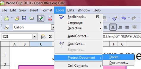 Open Office Spreadsheet Help by Trik Membuka Password Proteksi Sheet Excel