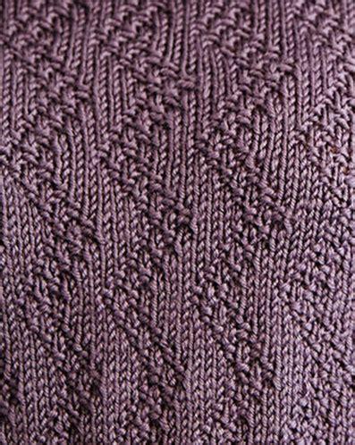 zig zag stitch pattern zig zag moss stitch knit pattern knitting kingdom