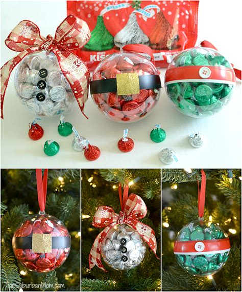 diy ornaments picture diy ornaments with hershey s kisses
