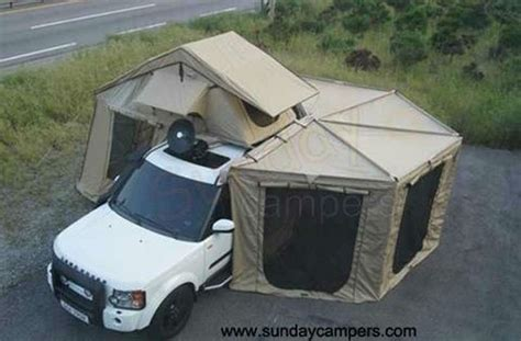 Land Cruiser Awning by Toyota Landcruiser Tent