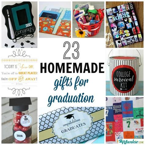 Handmade Graduation Gifts - 23 easy graduation gifts you can make in a hurry tip junkie
