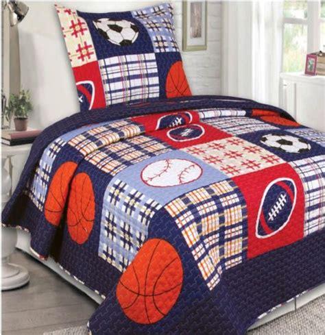 New Boys White Blue Soccer Nine Comforter Bedding Set Ebay White And Blue Boys Bedding And Baby Boys Comforter Set