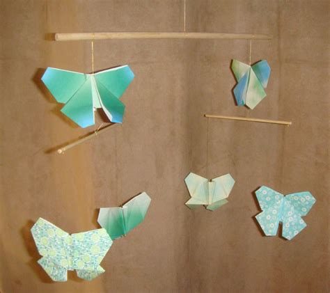 origami butterfly mobile butterfly origami mobile
