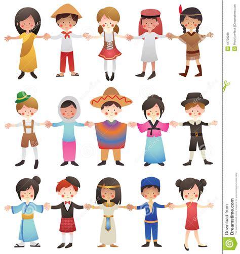 la cuisine v馮騁arienne pour tous enfants de diff 233 rents pays illustration de vecteur image