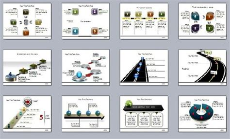 powerpoint template pack 301 mega pack provides animated powerpoint diagram