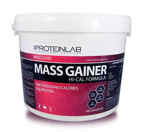 Whey Protein Gainer 4kg hi cal weight gainer whey protein powder weight gain mass gainer bcaa s ebay