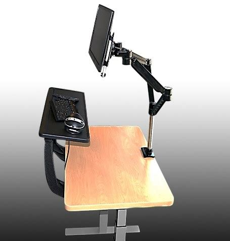 sit stand desk reviews a review of the sit stand desk converter pro desk riser