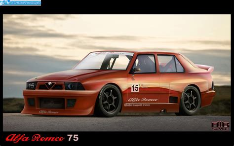Alfa Romeo Giulietta Tuning, alfa romeo 75 tuning kit