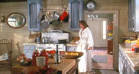 kitchen movies diane keaton s country kitchen in baby boom hooked on houses