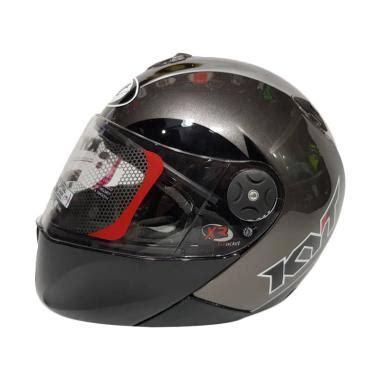 Kyt Venom Rr Solid 2 Visor jual helm kyt half terbaru harga murah