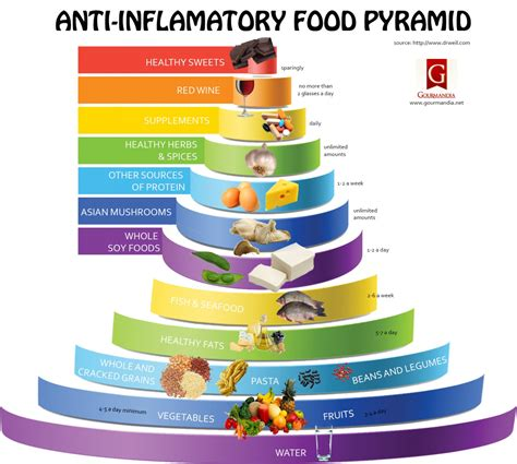 anti inflammatory anti inflammatory food pyramid visual ly