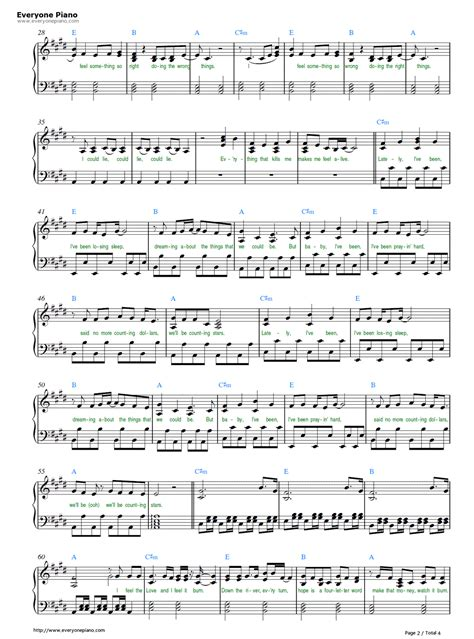 tutorial piano counting stars free counting stars onerepublic sheet music preview 2 r5