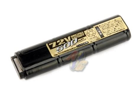 Marui 7 2v 500mah Battery For Electric Fixed Slide Pistols 1 tokyo marui aep 7 2v 500mah battery tm ba 061a ag us
