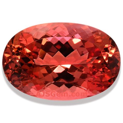 Golden Orange Color by Natural Imperial Topaz From Brazil At Ajs Gems
