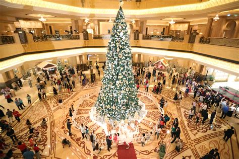 emirates palace christmas tree turkey markets carol singers and more where to