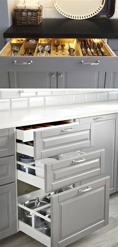 ikea kitchen island with drawers 25 best ideas about ikea kitchen drawers on