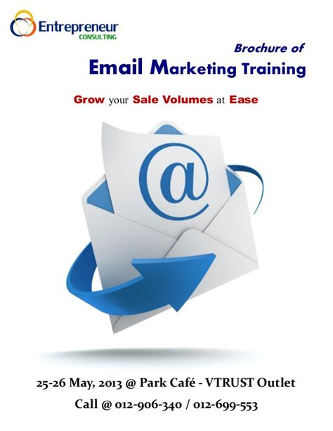 Courses On Marketing 1 by Brochure Of Email Marketing