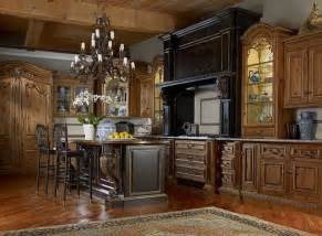 Old World Style Kitchen Cabinets by Old World Tuscan Kitchen Kitchen Ideas Pinterest