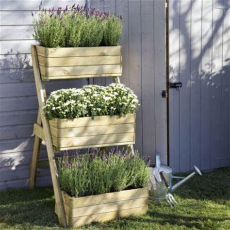 B And Q Planters by B Q Blooma Wooden Cascade Planter Home Delivered