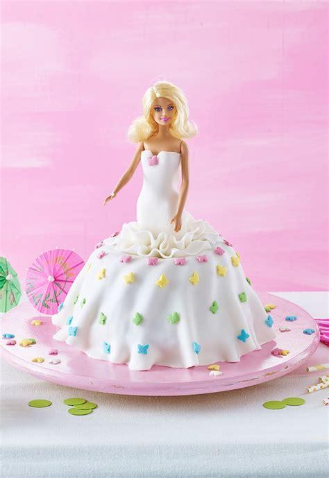 barbie kuchen rezept kindergeburtstag barbie cake
