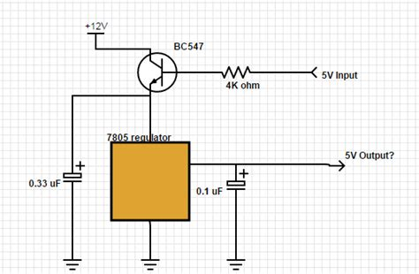 bc547 transistor work arduino bc547 bc548 with 5v at base can t 12v at collector emitter electrical