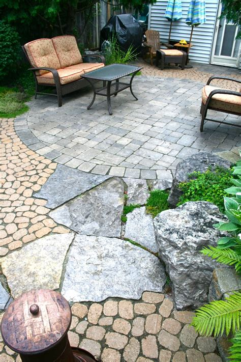 backyard bricks terrace traditional patio brick patterns ideas with arm