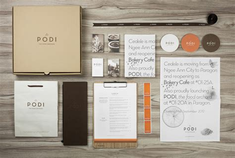 Organic Food 187 Retail Design Blog Branding Package Template
