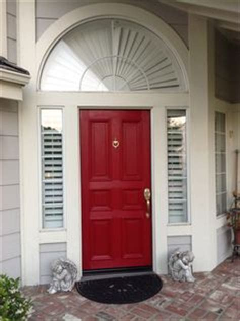 red front door sherwin williams antique red home curb appeal on pinterest