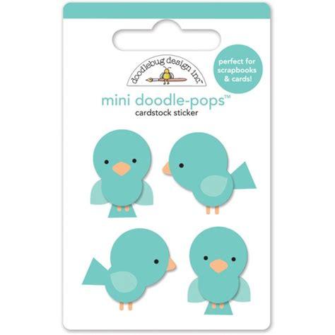 mini doodle pops doodlebug mini doodle pops bluejays blue jays