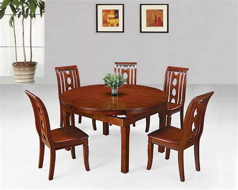 Wood Dining Table For 4 Wood Dining Table 4 Chairs Chair Pads Cushions