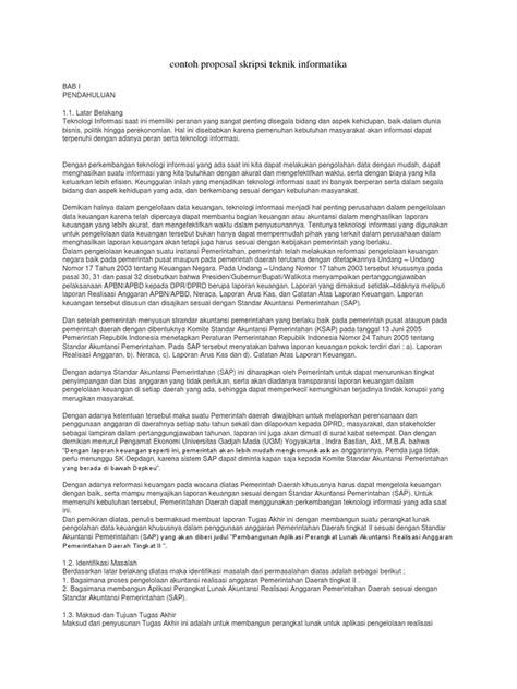 format laporan skripsi teknik informatika contoh proposal skripsi teknik informatika mikonazol