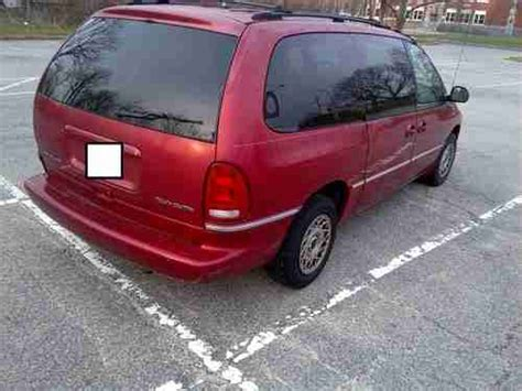 how make cars 1996 chrysler town country electronic throttle control purchase used 1996 chrysler town country in sayville new york united states for us 3 250 00