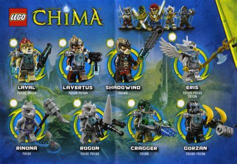 Rinora Set 2014 lego legends of chima new tribes