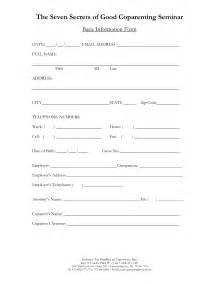 client registration form template ebook database
