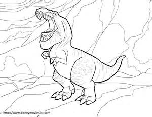 free disney dinosaur coloring pages