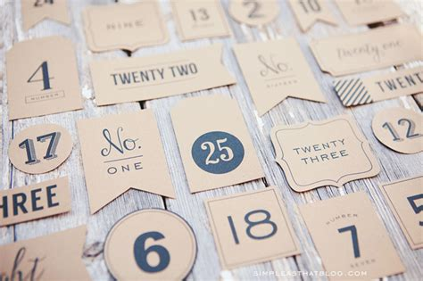 Printable Christmas Countdown Tags | printable advent christmas tags search results