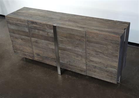 Stainless Steel Sideboard rustic industrial sideboard wood and stainless steel buffets media cabinets sideboards