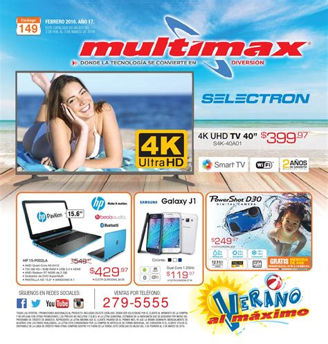 Tv Multimax catalogo de ofertas multimax by interiores estilo issuu