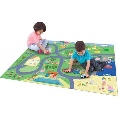 Peppa Pig Activity Mat by A Merry Peppa Pig Review Eighty Mph