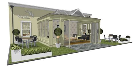 anglian home improvements to showcase timber orangery at