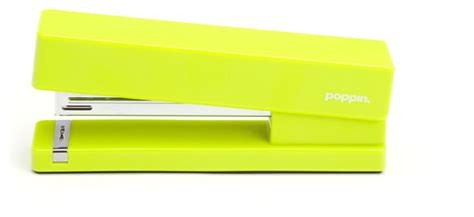 Stapler Lime Green Modern Desk Accessories Lime Green Desk Accessories