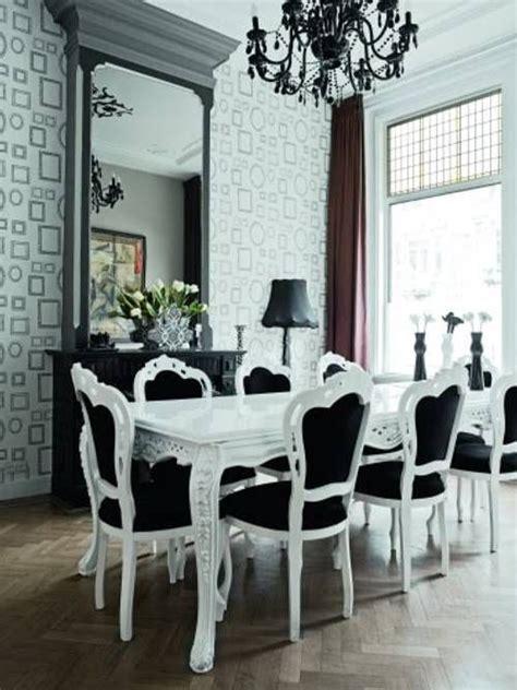 Decorar El Salon Comedor #10: Comedor-con-sillas-negras.jpg