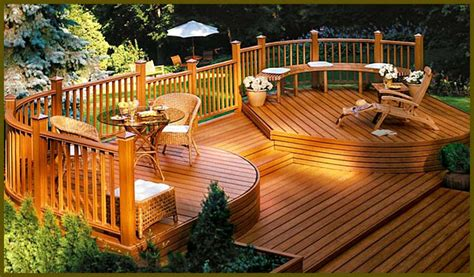 backyard wood deck ideas 22 deck design ideas to create a fabulous outdoor living