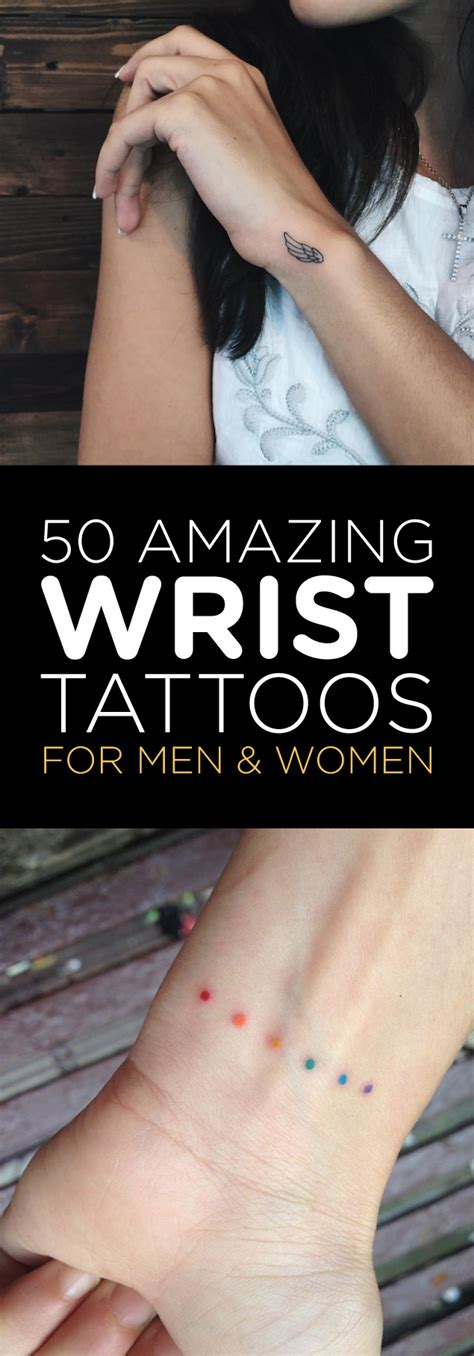 50 amazing wrist tattoos for men amp women tattooblend