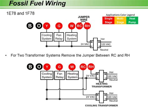 two stage thermostat wiring diagram stage free