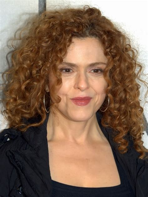 bernadette peters medium curly hairstyle for women over