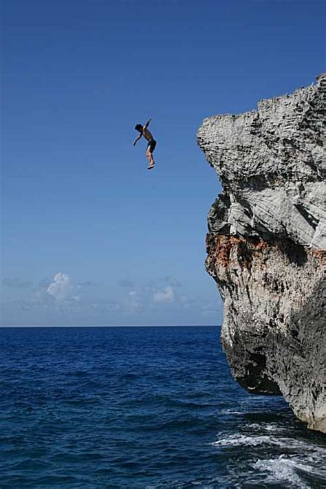highest cliff dive eleuthera cliff jumping phenomenal