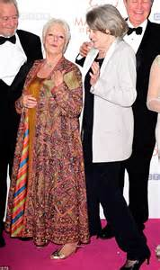 maggie smith makes a rare red carpet appearance picture camilla duchess of cornwall dazzles at the second best