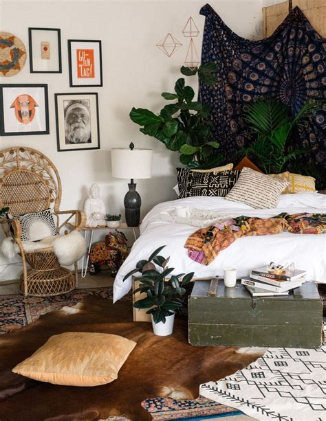 Bohemian Bed Frame Bohemian Bedroom Boho Hippie Decor Pinterest See More Ideas About Platform Bed