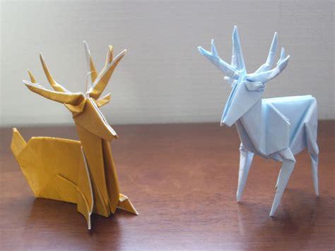origami reindeer tutorial katakoto origami deer origami pinterest origami